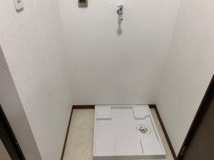 室内洗濯機置き場の画像