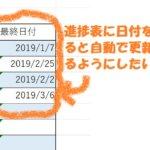 「物件経緯表」エクセルで重複するデータの中から新しい日付を取り出す方法